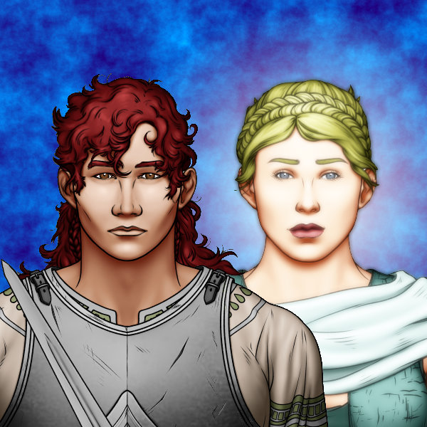 Achilles and Thetis Portrait